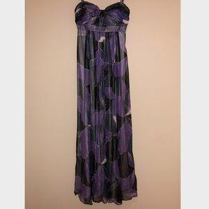 BCBG Strapless Gown